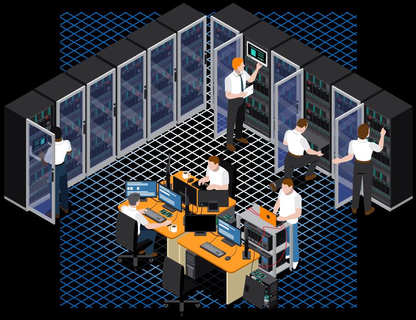 طراحی و راهاندازی اتاق سرور
