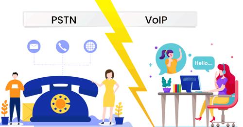 مقایسه امنیت VoIP با PSTN