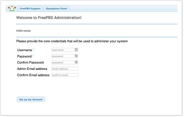 تعیین رمز عبور و نام کاربری