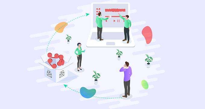 اجرایی کردن کار گروهی در واحد خدمات مشتری