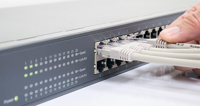 انواع تجهیزات اکتیو شبکه