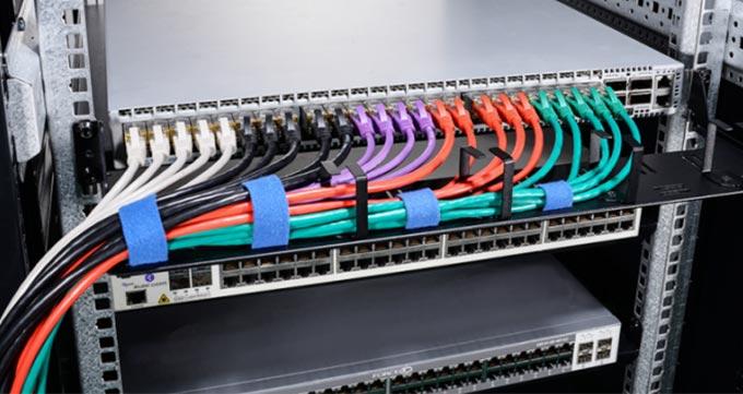 رنگ بندی کابل شبکه استاندارد