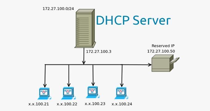 در سرور DHCP چه دیوایس هایی قابلیت ورود به سرور را دارند؟