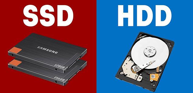 قدمت استفاده از هارد ssd و hdd